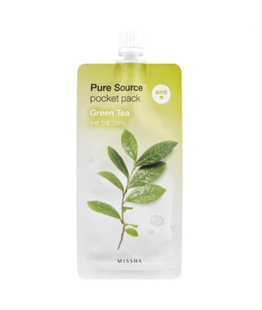 "Missha Pure Source Pocket Pack ""Green Tea"", 10 ml"