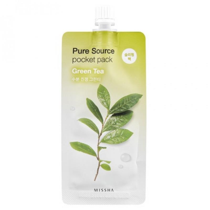 "Missha Pure Source Pocket Pack ""Green Tea"", 10 ml"