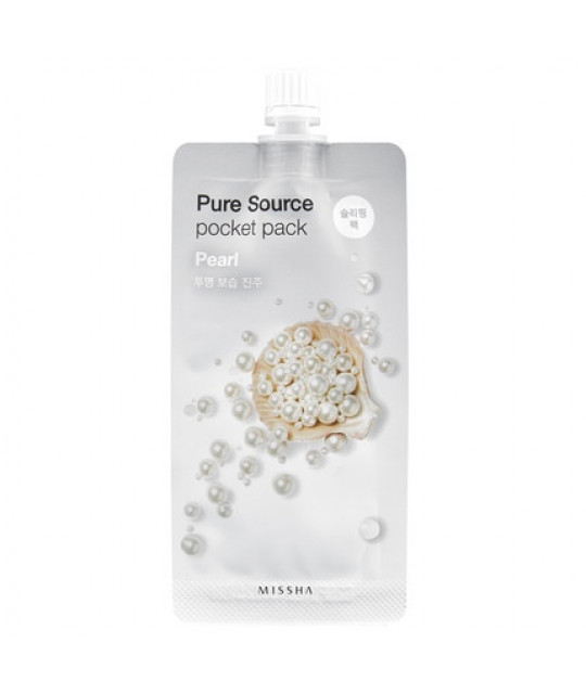 "Missha Pure Source Pocket Pack ""Pearl"", 10 ml"