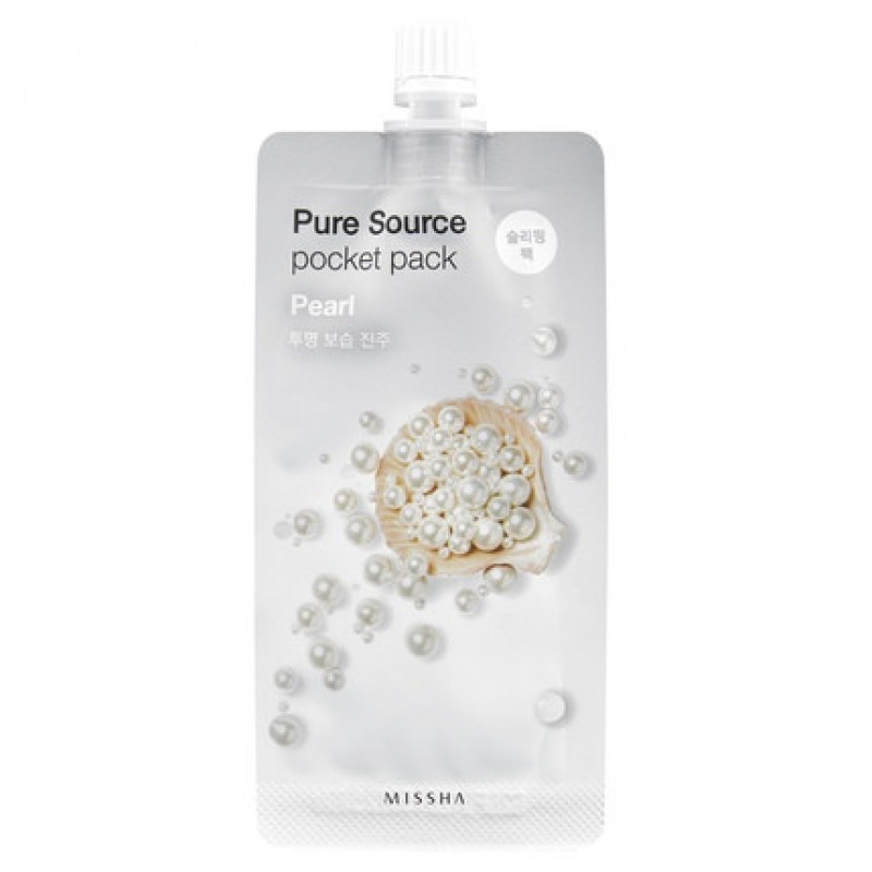 "Missha Pure Source Pocket Pack ""Pearl"", 10 ml"