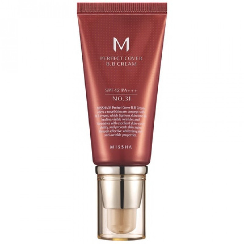 Missha M Perfect Cover BB Cream SPF42/PA+++ (No.31/Golden Beige), 50 ml