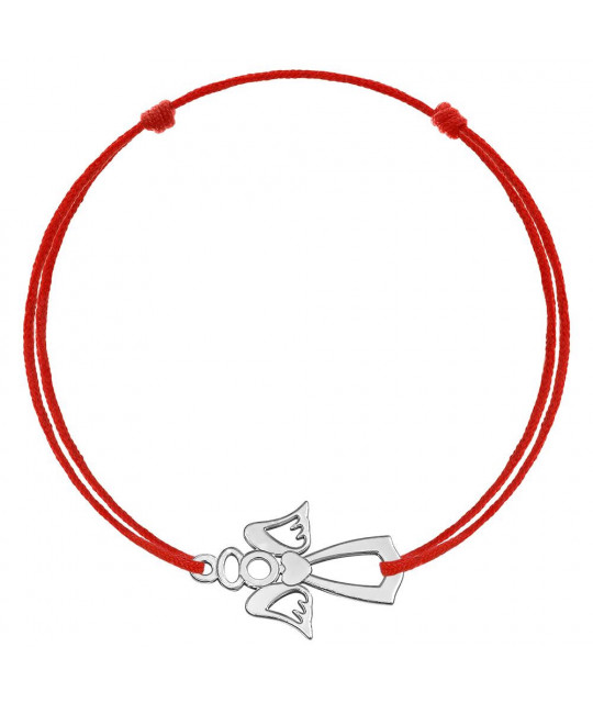 Red kabbalah Angel №2, Silver