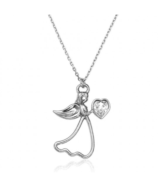 Pendant Angel, Crystal Clear