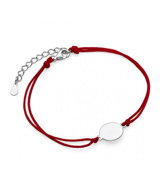 Punane Kabbala hõbe amuletiga, Circle