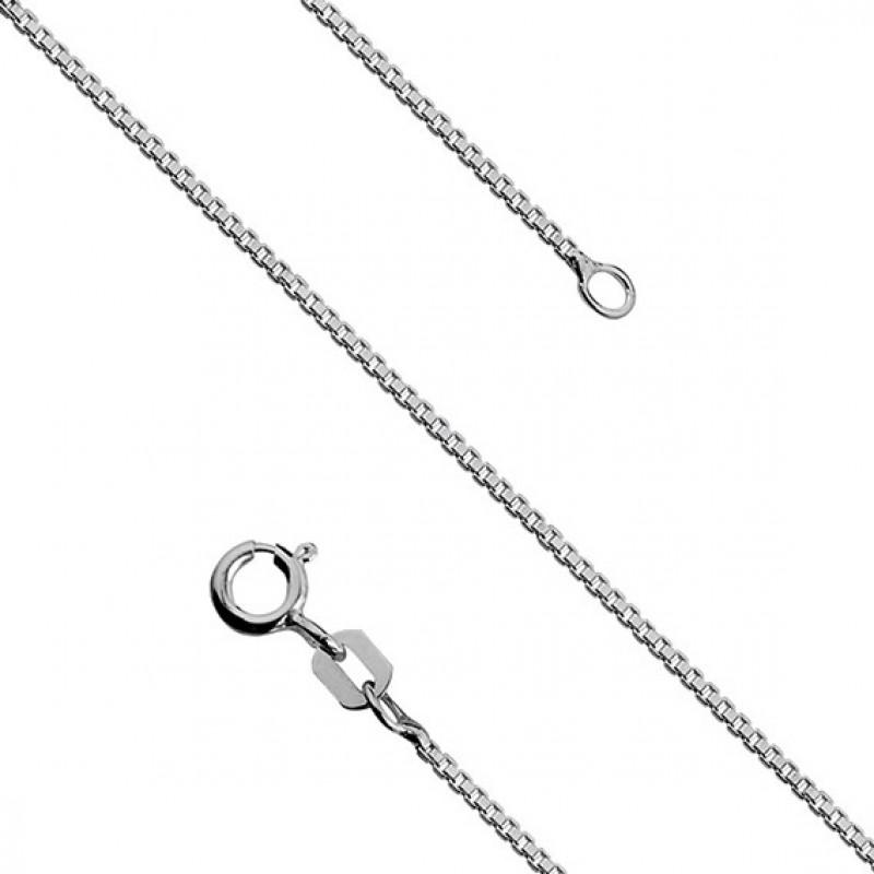 Silver chain, 42cm, Ø10