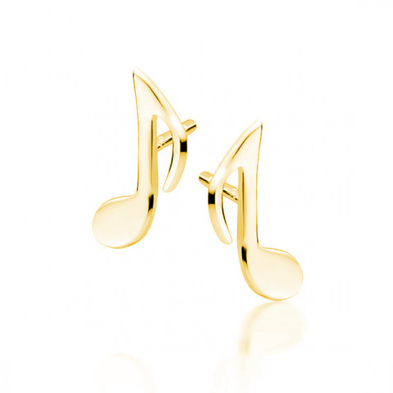 Gold-plated silver, Musical notes