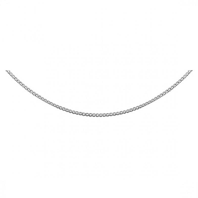 Silver chain, 45 cm, Ø10