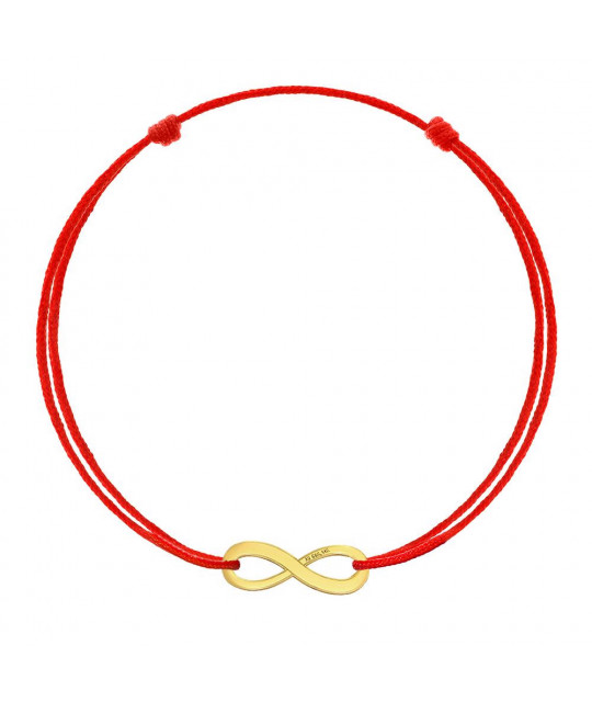 Red kabbalah Infinity, Gold 8K