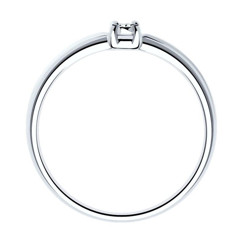Silver ring SOKOLOV with diamond