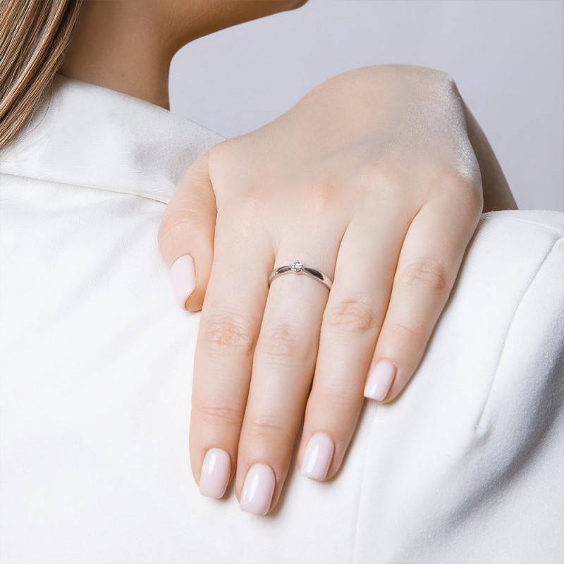 Hopea SOKOLOV sormus timantilla